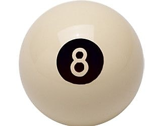 Aramith Aramith Billiard Balls White 8 Ball