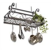 Enclume Decor Basket Hanging Pot Rack