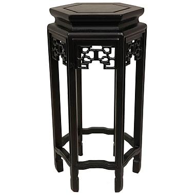 Oriental Furniture Plant Stand; 20''
