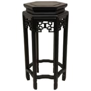 Oriental Furniture Plant Stand; 20''