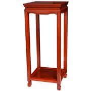 Oriental Furniture Oriental Multi-Tiered Plant Stand; Honey