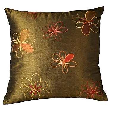 LR Resources Adelice Throw Pillow; Ivy