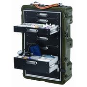 Pelican Hardigg Medchest 8 Drawer: 12.61'' x 20.87'' x 32.75''