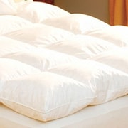 Pacific Coast Feather Luxe Loft 100pct Cotton Feather Bed; Twin