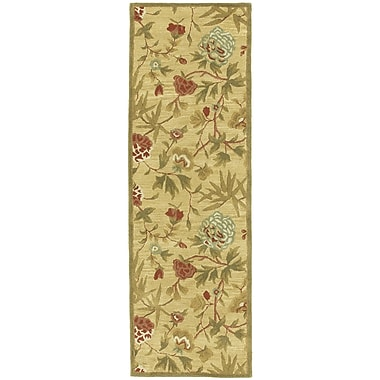 St. Croix Traditions Gold Rug; Runner 2'6'' x 8'