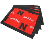 College Covers Border Placemat (Set of 4); Nebraska
