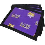 College Covers Border Placemat (Set of 4); LSU Tigers