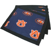 College Covers Border Placemat (Set of 4); Auburn