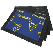 College Covers Border Placemat (Set of 4); West Virginia