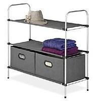 Whitmor Closet Organizer Collection 3 Tier Shelves