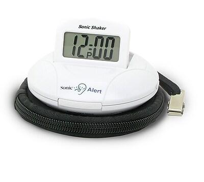 Sonic Alert Sonic Boom Portable Vibrating Alarm Clock WYF078276561146