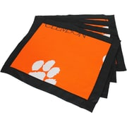 College Covers Border Placemat (Set of 4); Clemson