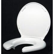 Big John Open Front Round Toilet Seat