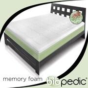 BioPEDIC Extreme Luxury 3'' Memory Foam Mattress Topper; Queen