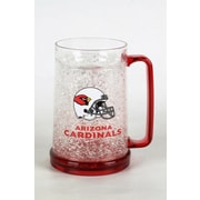 DuckHouse NFL 16 Oz. Beer Glass; Arizona Cardinals