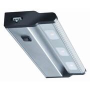Lithonia Lighting UCLD 12'' LED Under Cabinet Bar Light; Brush Nickel