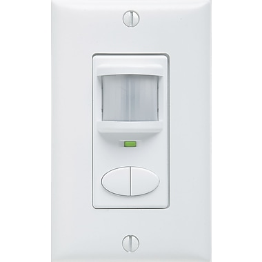 Lithonia Lighting Control Switch Wall Mounted Sensor; White