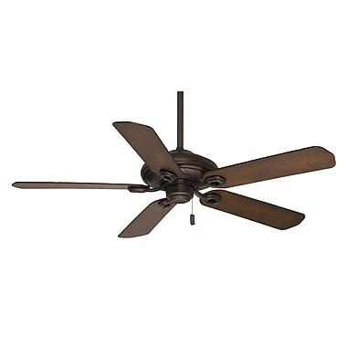 Casablanca Fan 54'' Capistrano 5 Blades Outdoor Damp Fan w/ Handheld Remote