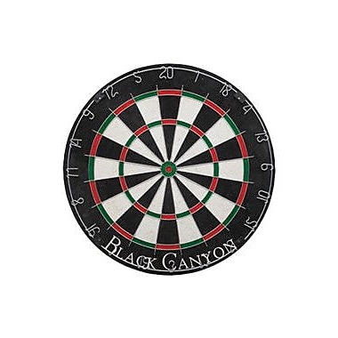 Black Canyon Rounded Wiring Dart Board