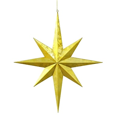 Vickerman Candy Finish 8 Point Star UV Ornament