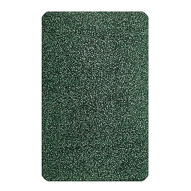 Carpets for Kids Solid Mt. St. Helens Emerald Green Area Rug; Rectangle 4' x 6'