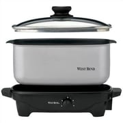 West Bend 5-Quart Oblong Slow Cooker