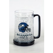 DuckHouse NFL 16 Oz. Beer Glass; Seattle Seahawks
