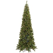 Vickerman 7.5' Green Artificial Christmas Tree w/ 400 LED Multi-color Lights