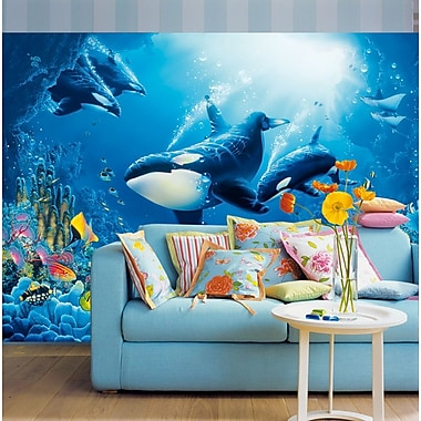 Brewster Home Fashions Ideal Decor Delight Of Life Wall Mural