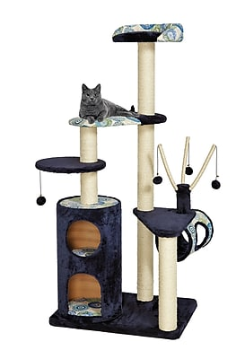 Midwest Homes For Pets 62'' Feline Nuvo Playhouse Cat Tree