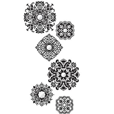WALL POPS!® Large Wall Art Kit, Baroque, 6 Stickers