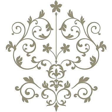 WALL POPS!® Large Wall Art Kit, Nouveau Damask, 14 Stickers