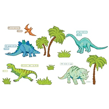 WALL POPS!® Large Wall Art Kit, Dinosaur Expedition, 25 Stickers