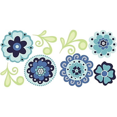 WALL POPS!® Mini Pops Wall, Morning Glory, 16 Stickers