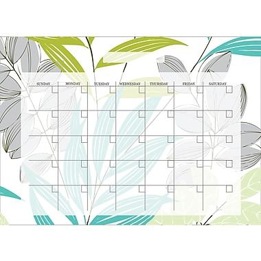 WALL POPS!® Dry-Erase Monthly Calendar, Habitat, 13