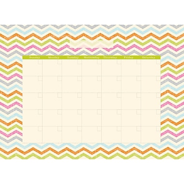 WALL POPS!® Dry-Erase Monthly Calendar, St. Tropez, 13