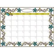 "Dry Erase Monthly Calendar, 13"" x 17-3/4"""