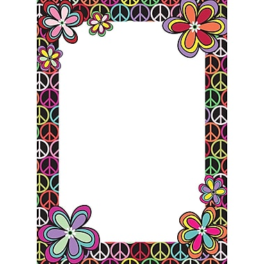 WALL POPS!® Dry-Erase Message Board, Peace, 13