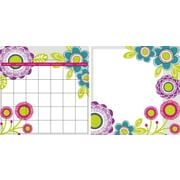 "WALL POPS!® Dry-Erase Monthly Calendar & Writing Memo Combo Pack, Poppies, 13"" x 13"", 2 Stickers"