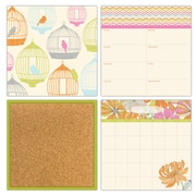 WALL POPS!® Dry-Erase Organization Kit, St. Tropez, 4 Stickers and 6 Pins
