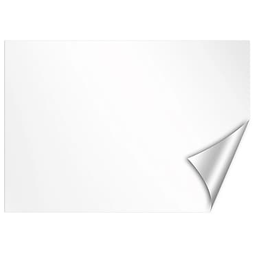 WALL POPS!® Dry-Erase White Message Board Sticker, 17-1/2