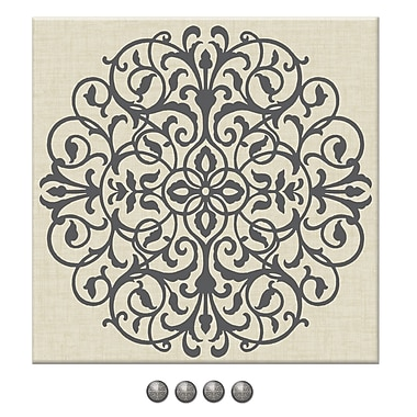 WALL POPS!® Fabric Pin Board, Veranda, 16
