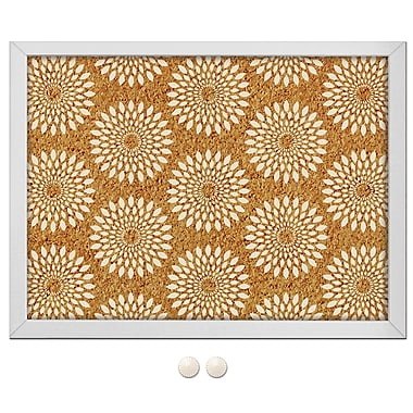 WALL POPS!® Printed Cork Board, Catalina, 23-1/4
