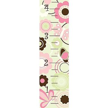 WALL POPS!® Growth Chart Sticker, Butterfly Garden, 13