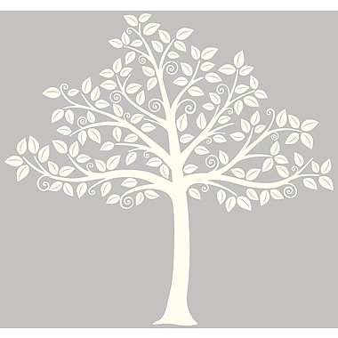 WallPops!MD – Trousse d'art mural grand format, Ombre à arbre, 129 autocollants