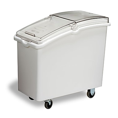Continental 98.41 L Mobile Ingredient Bin, White