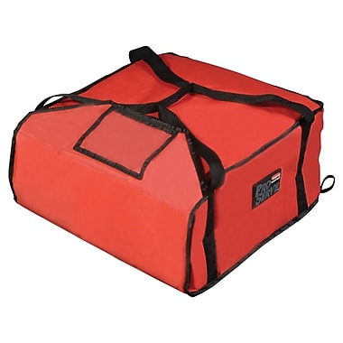 Rubbermaid Proserve 9F37 Pizza Delivery Bag, Red, 7.75