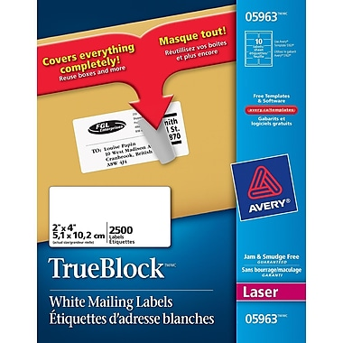 Avery® Easy Peel Address Label, 2
