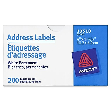 Avery® Address Labels, 4