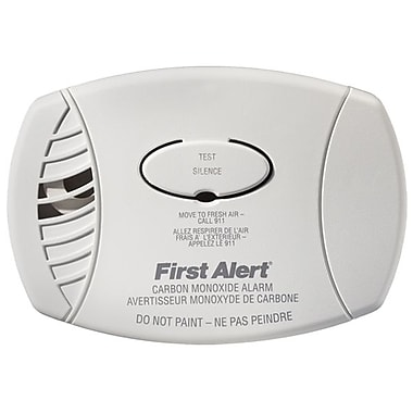 First Alert® Zero Waste, Carbon Monoxide (CO) Alarm